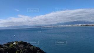 自然,風景,海,空,屋外,ビーチ,雲,島,水面,海岸,山,岬,眺め,海洋地形