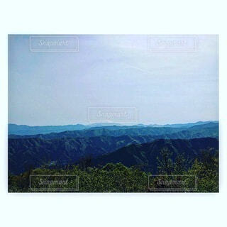 自然,風景,空,山,樹木,絵画,テキスト