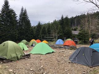 空,アクセサリー,傘,屋外,景色,樹木,キャンプ,地面,テント,景観,防水,ハイキング機器