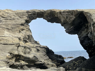 自然,風景,海,空,屋外,ビーチ,海岸,山,岩,崖