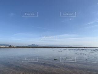 風景,海,空,ビーチ,雲,砂浜,水面,海岸,日中