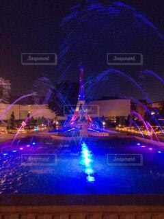 夜,夜景,屋外,イルミネーション,都会,パリ,フォトジェニック