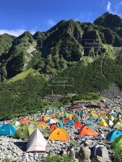 カラフル,山,登山,キャンプ,テント,山登り,宿泊,涸沢,縦走,山旅,キャンプサイト,山ご飯