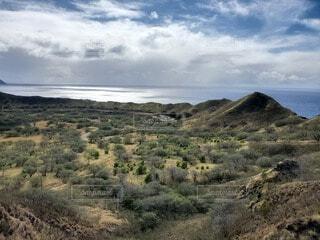 自然,風景,空,屋外,草原,雲,晴れ,青,曇り,海岸,山,景色,草,丘,樹木,大地,岩,新緑,高原,草木,日中,山腹,海洋地形