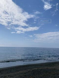 自然,海,空,屋外,ビーチ,雲,砂浜,水面,海岸