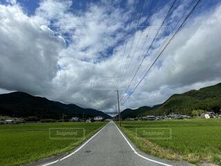 自然,空,夏,屋外,雲,道路,山