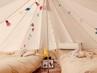 かわいい,リラックス,癒し,旅行,キャンプ,枕,テント,寝具,ベッド,グランピング