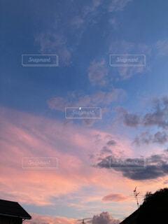空の雲の写真・画像素材[4649792]