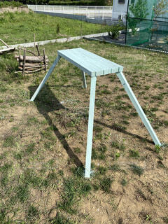 屋外,DIY,草,机,家具,キャンプ,遊び場,キッチン台