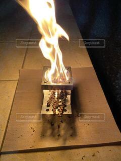 炎,火,焚き火