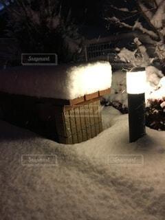 雪,庭,屋外,駐車場,椅子,積雪,街頭