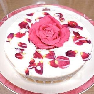 母の日ケーキの写真・画像素材[4644011]