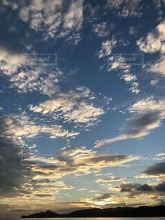宮津湾の空の写真・画像素材[4656127]