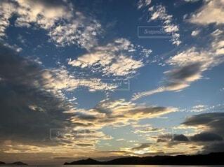 宮津湾の日の出の写真・画像素材[4656125]