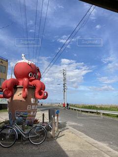 タコの有名な島の写真・画像素材[4649073]