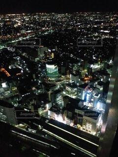 名古屋の夜景の写真・画像素材[4649076]