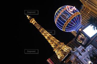 ラスベガスの夜景の写真・画像素材[1198791]