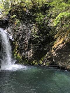 自然,屋外,川,水面,滝,樹木