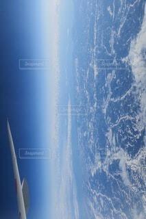 自然,空,屋外,雲,飛行機,水面,空中