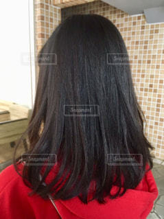 ツヤ髪の写真・画像素材[2462877]