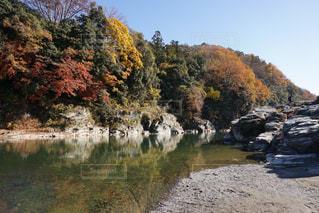 秋の長瀞川の写真・画像素材[2511247]