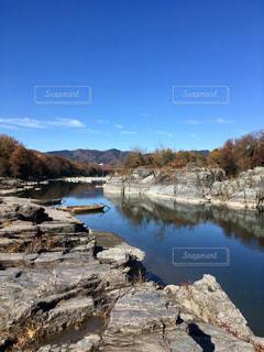 長瀞川と舟の写真・画像素材[2511297]