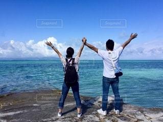 竹富島西桟橋の写真・画像素材[2513510]