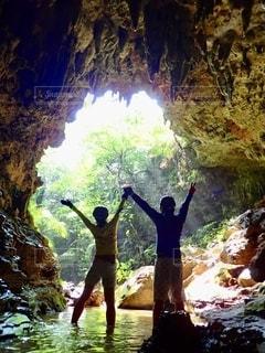 洞窟の写真・画像素材[2513543]