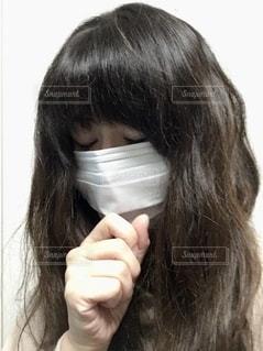 マスクの女性の写真・画像素材[2654654]