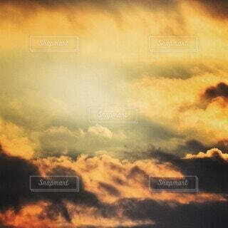 自然,空,屋外,雲,山,景色,光,朝,雲海,くもり