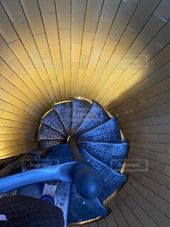 階段,螺旋,螺旋階段,奥行き,吸い込まれる
