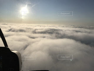 空,雪,屋外,雲,霧,くもり