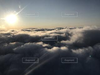 自然,空,雪,屋外,雲,霧,くもり
