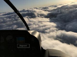 空,屋外,雲,飛行機,航空機,くもり,フライト,車両