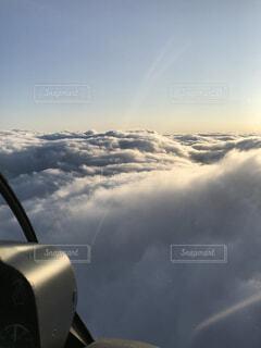 空,雪,屋外,雲,飛行機,山,くもり,フライト