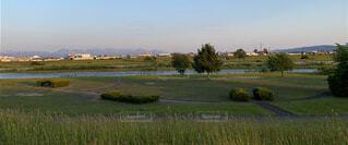 自然,風景,空,屋外,緑,草原,雲,景色,草,樹木,大地,パノラマ,草木,日中