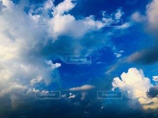 自然,空,屋外,白,雲,青,くもり,日中,積雲