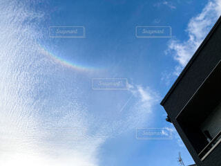 逆さ虹の写真・画像素材[4654610]