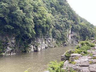 自然,森林,屋外,湖,川,水面,山,景色,滝,樹木,岩,旅行,草木,岩畳,山腹