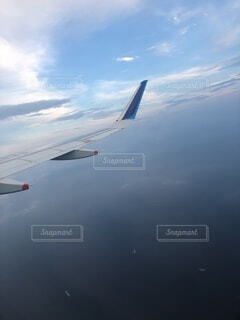 風景,空,屋外,雲,飛行機,船,水面,飛ぶ,空中,航空機,くもり,フライト,空の旅,航空,車両,ジェット,日中
