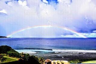 虹の全貌の写真・画像素材[4653947]