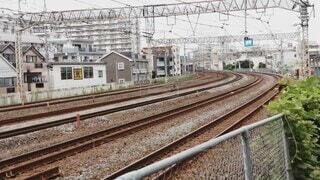 屋外,駅,トラック,鉄道,レール,東海道線,E231,戸塚カーブ