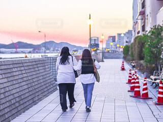 友人と過ごすかけがえのない時間の写真・画像素材[4652566]