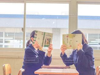 放課後の勉強会の写真・画像素材[4652735]