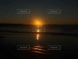 自然,空,屋外,太陽,ビーチ,水面,海岸,地平線,初日の出,穏やか
