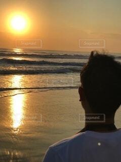 ベトナムダナン 決意の朝日の写真・画像素材[4662923]