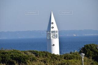 白いタワーの写真・画像素材[4683896]