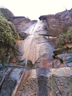 自然,風景,木,屋外,水,水面,山,景色,滝,登山,岩,絵画,石,ナチュラル,谷,峡谷