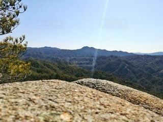自然,風景,空,木,屋外,緑,雲,山,景色,光,登山,丘,樹木,岩,石,日中,山腹,バック グラウンド