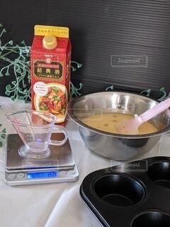 デザート,楽器,おいしい,レシピ,蒸しパン,紹興酒,マーラカオ